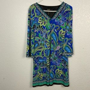 Laundry By Shelli Segal Dresses - Laundry By Shelli Segal Paisley Dress Large